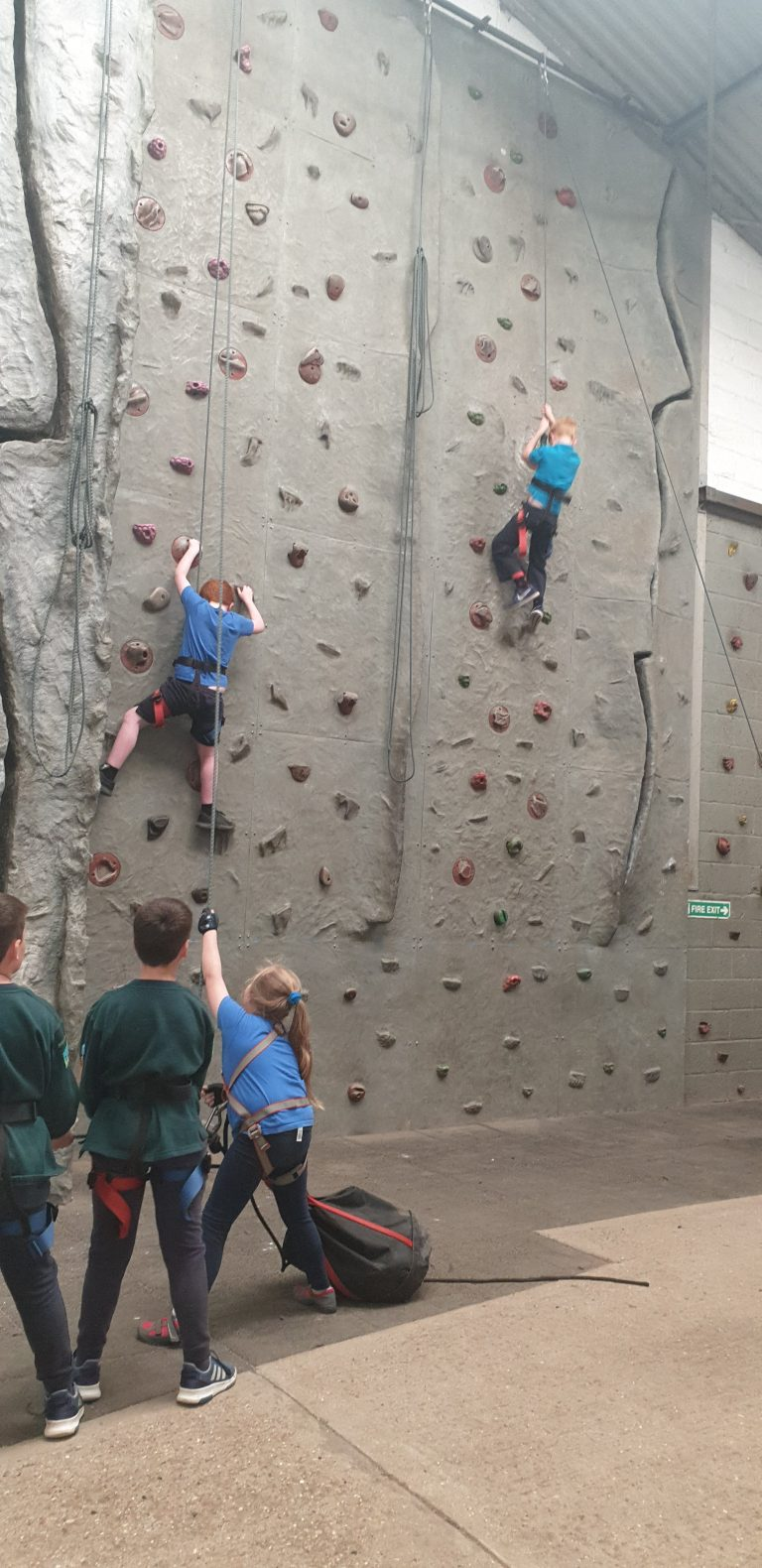 Read more about the article Climbing at Blackland Campsite