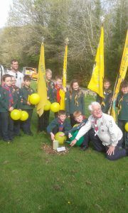 Cubs-centenary-tree-planting